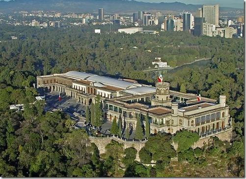 O Castelo de Chapultepec