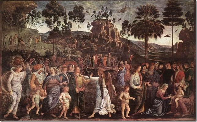 fresco (350 × 572 cm) — c. 1482
